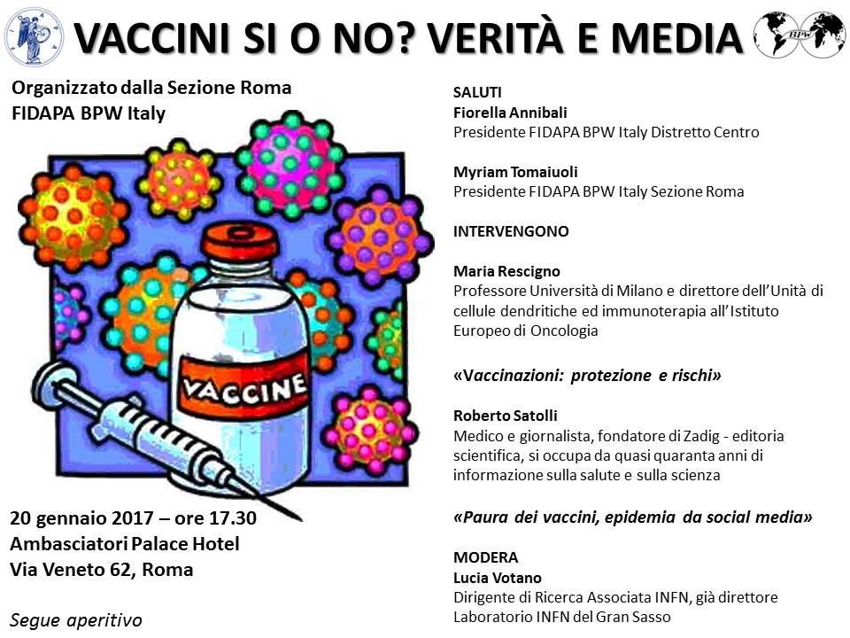 Vaccino si o no? Verità e media